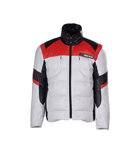 Mens Nylon Woven Down Coats/Jackets For Motorcycle Wear