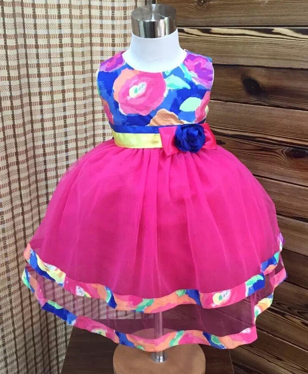 Kid's 100%Polyester Princess Dresses