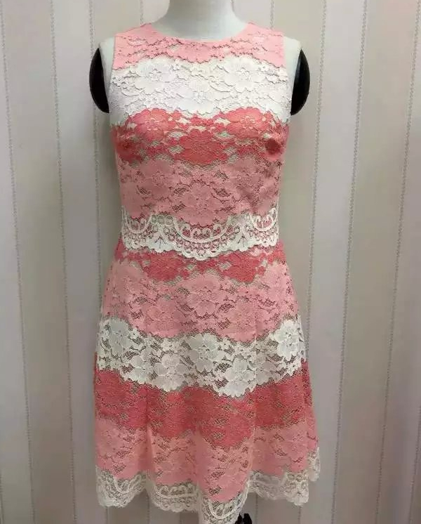 Ladies Cotton Lace Dress