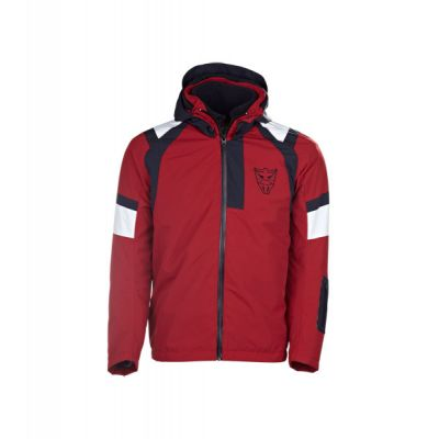 Mens Woven Hooded Coats/Jackets For Motorcycle Wear