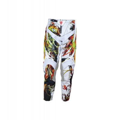 Mens Leather Trousers/Pants With Printing