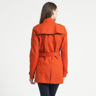 Ladies Slimmed Coats With Long Sleeves