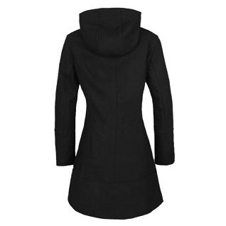 Ladies Wool Slimmed/Hooded Coats With Long Sleeves